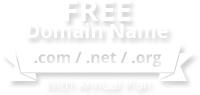 Free domain name with select annual plans